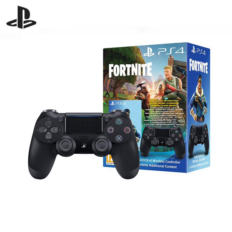 PS4: Set Controller gaming wireless Black (DualShock 4 Cont Black: CUH-ZCT2E: SCEE) + Voucher Fortnite fortnite ps4 page 3