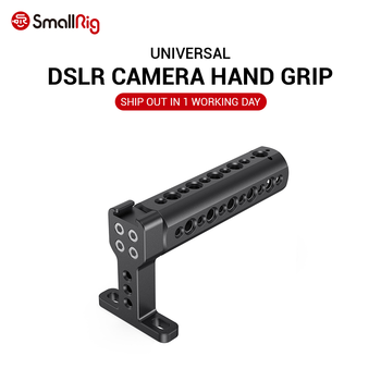 цена на SmallRig Top Handle with Cold Shoe DSLR Camera Rig can use with SmallRig A6500 A7III Z6 Camera Cage Funtional Cheese Handle 1638