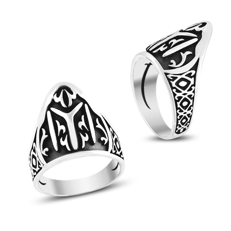 925 Silver Ottoman Style Designed Ring for Men(Turkey)