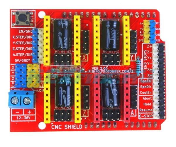 CNC Shield V3.0-motherboard For CNC Machine