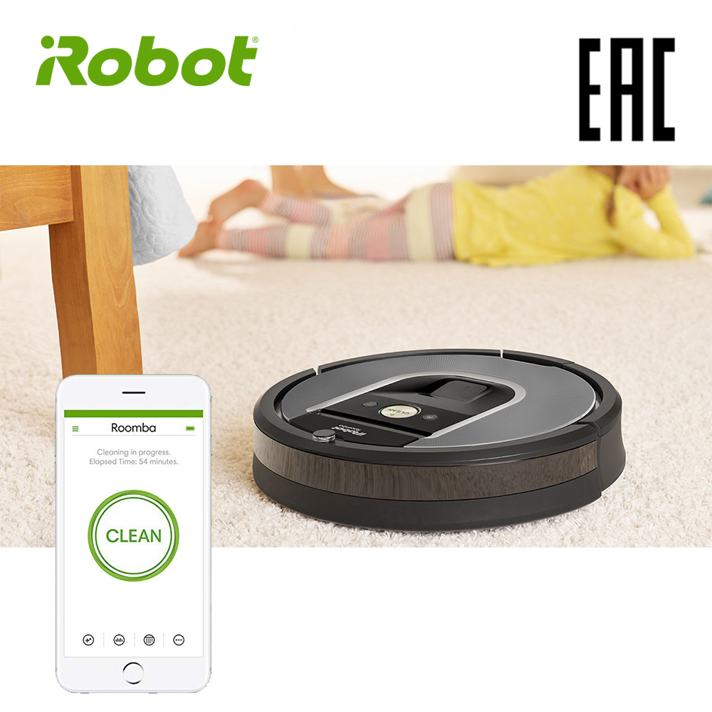 iRobot Roomba 960 High Suction Electric Automatic Robot Vacuum Cleaner Sweeping Dust Sterilize APP Floor Cleaning Home Household цена и фото