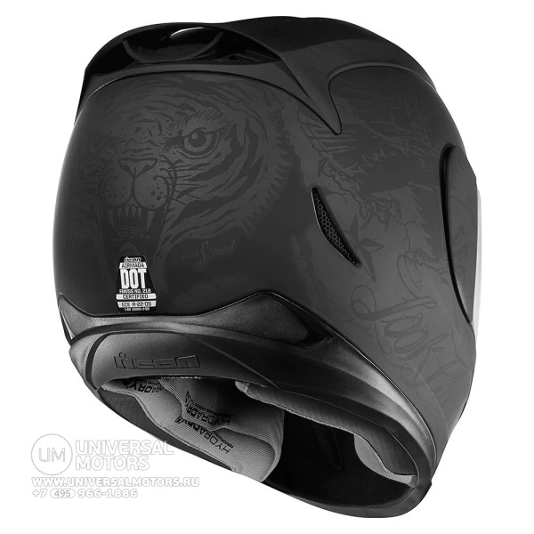 Шлем ICON AIRMADA SCRAWL BLACK|Шлемы| | АлиЭкспресс