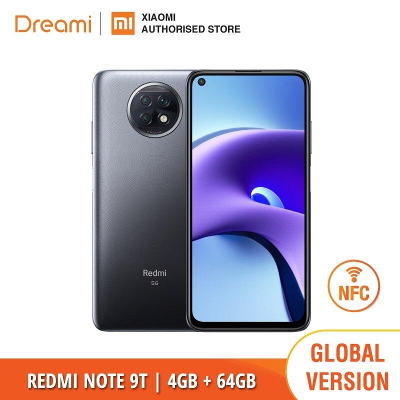 Глобальная версия Xiaomi Redmi Note 9T 64 Гб ROM 4 Гб RAM   Абсолютно новый   Запечатанный