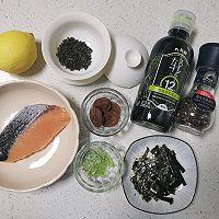 温暖治愈 日式三文鱼梅子茶泡饭的做法图解1