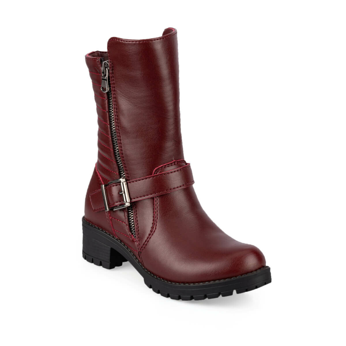 FLO GRILL 9PR Burgundy Female Child Basic Casual Shoes KINETIX