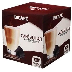 CAFE AU LAIT Bicafé, 16 compatible capsules Dolce Gusto