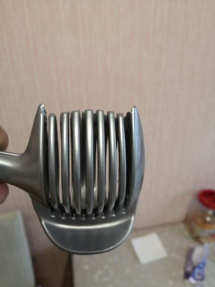 Stainless Steel Vegetable Slicer Hand Protector photo review