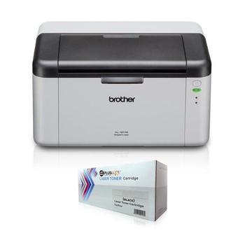 Brother HL 1111 Laser Printer and Refillable Toner