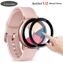 Glass For Samsung Galaxy Watch Active 2 44mm 40mm 46mm 42mm Gear S3 Frontier S2 Sport 3D HD Full Screen Protector Film Active2 cheap Ultra-thin Nano-coated Tempered Glass Film For Samsung Galaxy Watch Active 2 Screen Protector For Samsung Gear S3 S2 For Samsung Galaxy Watch 46mm 42mm