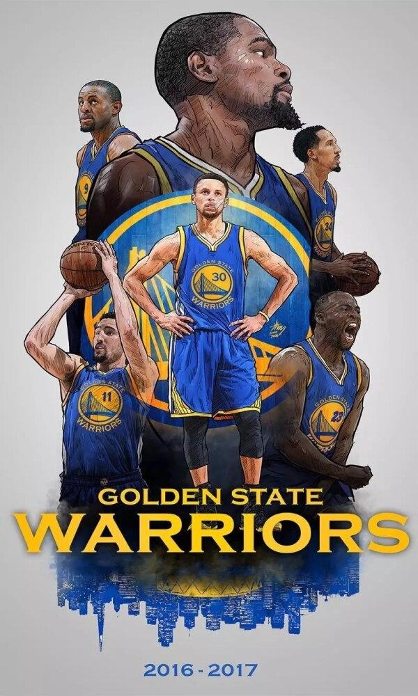 金州勇士队夺得2017年度NBA总冠军