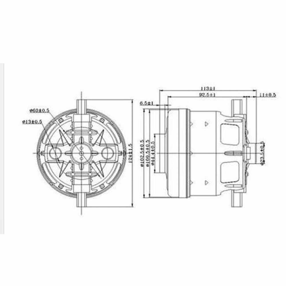 Siemens VSQ 8 SIL66A двигатель пылесоса 1600 Вт