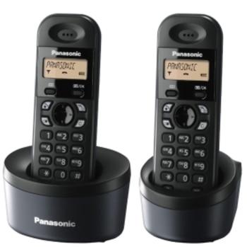 PHONE KXTGC312SPB BLACK DUO DECT