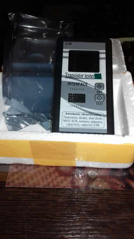 Многоцелевой Транзистор тестер 128*160 Диод тиристорный емкость резистор индуктивность MOSFET СОЭ LCR метр TFT Цвет Дисплей