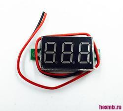 الفولتميتر الرقمي LF-109-004-V1 2.50-32.0 فولت ، بإطار مفتوح