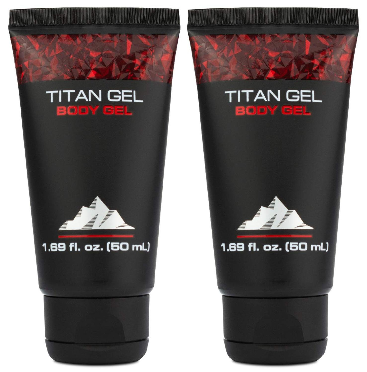 Titan Gel 2 Pack For Man Original Body Gel For Male Enhacement And Enlargement Awakening Muscles With Tantric Massage – Jelly Ge