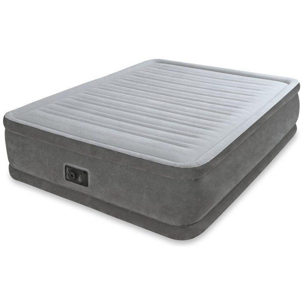 Intex Bed Flock Quine Comfort, 152 х203х56см, Ac220v, Built-in Pump