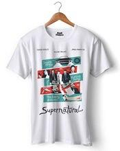 Супернатуральная футболка унисекс, BTS, аниме, y2k, Playboy, новый тренд, прошлый сезон, фильм, серия фильмов, Netflix, популярная, милая, популярная