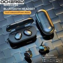 Écouteurs intra-auriculaires sans fil Bluetooth 5.0 Y30, casque d'écoute pour le Sport, suppression du bruit, son stéréo, pour la télévision