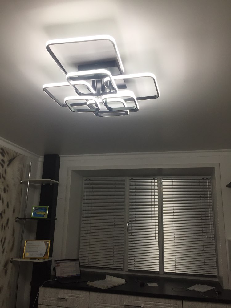 Luzes de teto Remoto Plafon Moderno