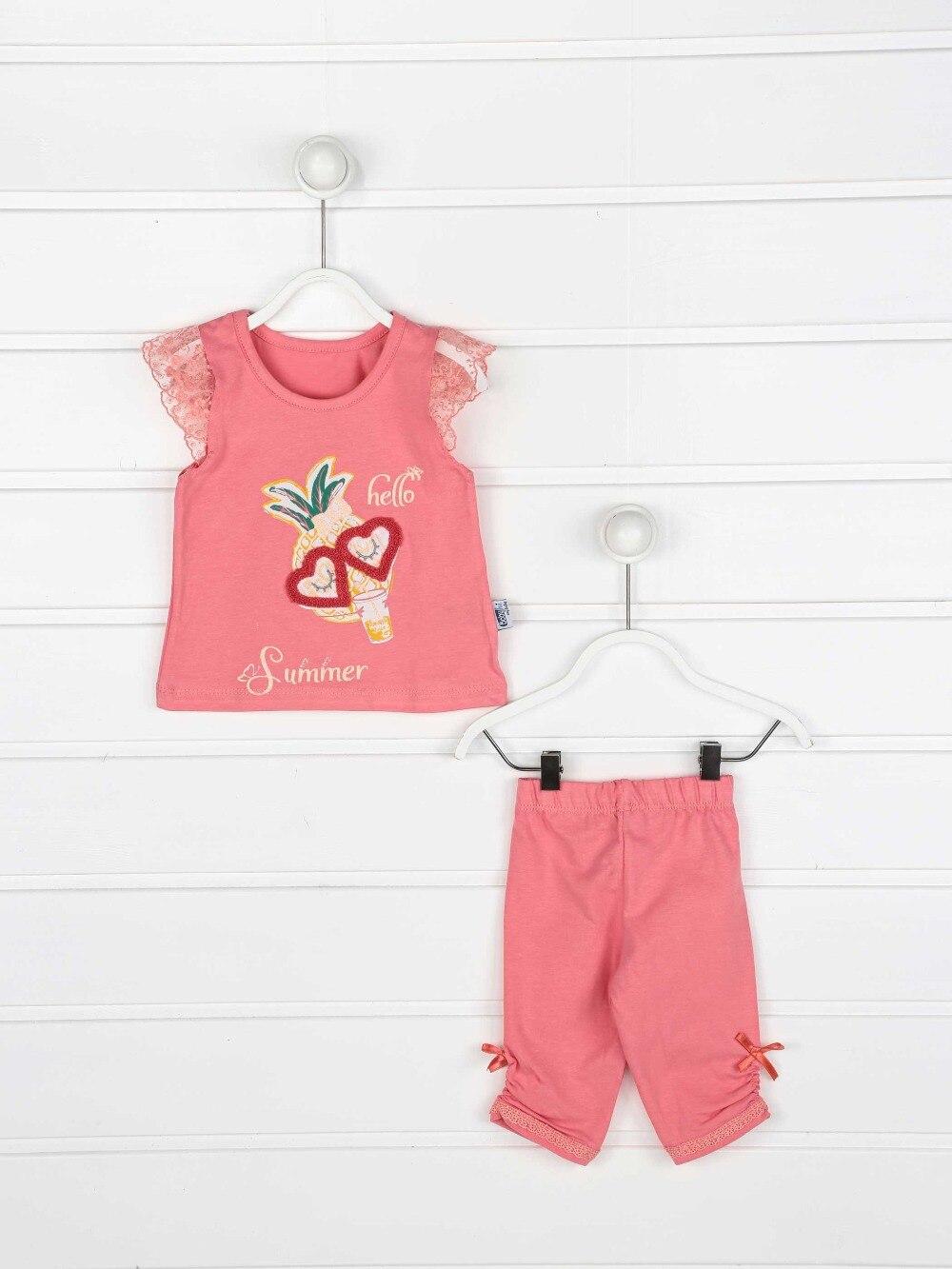 082-2221-003 Narçiçeği Yazlık Kız Bebek Taytlı Takım (1)