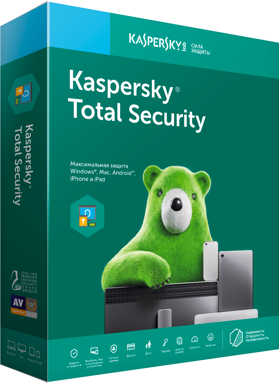 Antivirus Kaspersky Total Security All Device License Extension 2 Device 1 Year Bag Loading
