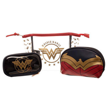 Set 3 portatodos Wonder Woman DC Comics