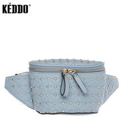 Sac de taille femme bleu keddo