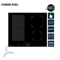 Built in Hob Induction HIBERG i MS 6049 B Home Appliances Major Appliances cooking panel Induction hob cookers induction hob
