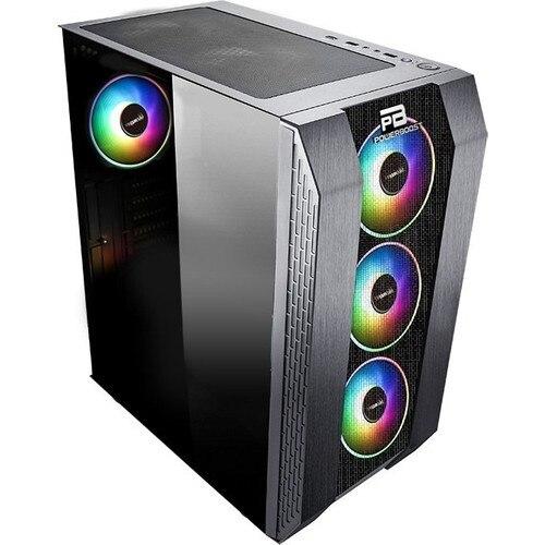 Power Boost VK-P3305B 500W USB 3.0 ATX Mesh Fixed Led Fan Black Computer case (JBST-VKP3305B) 4