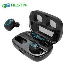 Auriculares inalámbricos Bluetooth auriculares TWS auriculares inalámbricos con cancelación de ruido auriculares manos libres auriculares para móviles