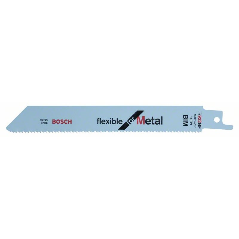 BOSCH-saw Blade Sable S 922 BF Bendable For Metal