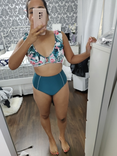 Women's Bikini Set in Retro Style photo review