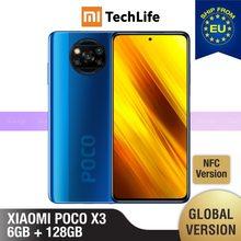 [Versão global] poco x3 6gb ram 128gb rom (novo/selado) nfc, pocox3, poco, 128, telefone móvel