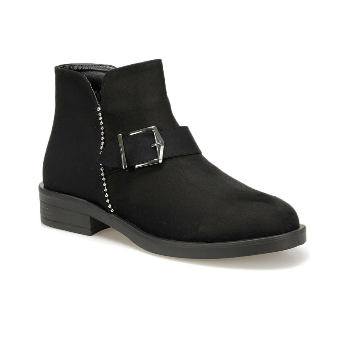 FLO WITSEL85Z SUEDE Black Women Boots BUTIGO