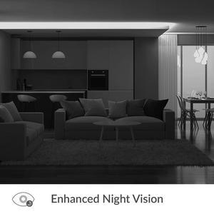 Image 5 - Купольная камера YI Dome 1080P, Камера 360 градусов, IP камера, Панорамирование/Наклон/Зум, Круиз контроль, Система ночного видения, Облачное хранилище