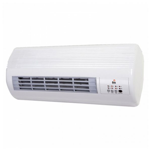 Wall Ceramic Split Heater Grupo FM TS2001 2000W White
