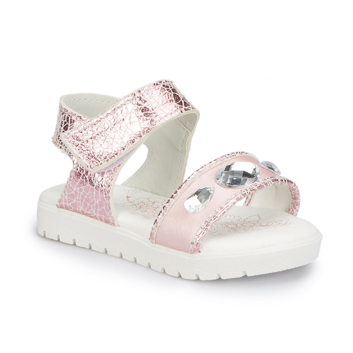 FLO 81.510089.B Pink Female Child Without Spikes Sandals Polaris
