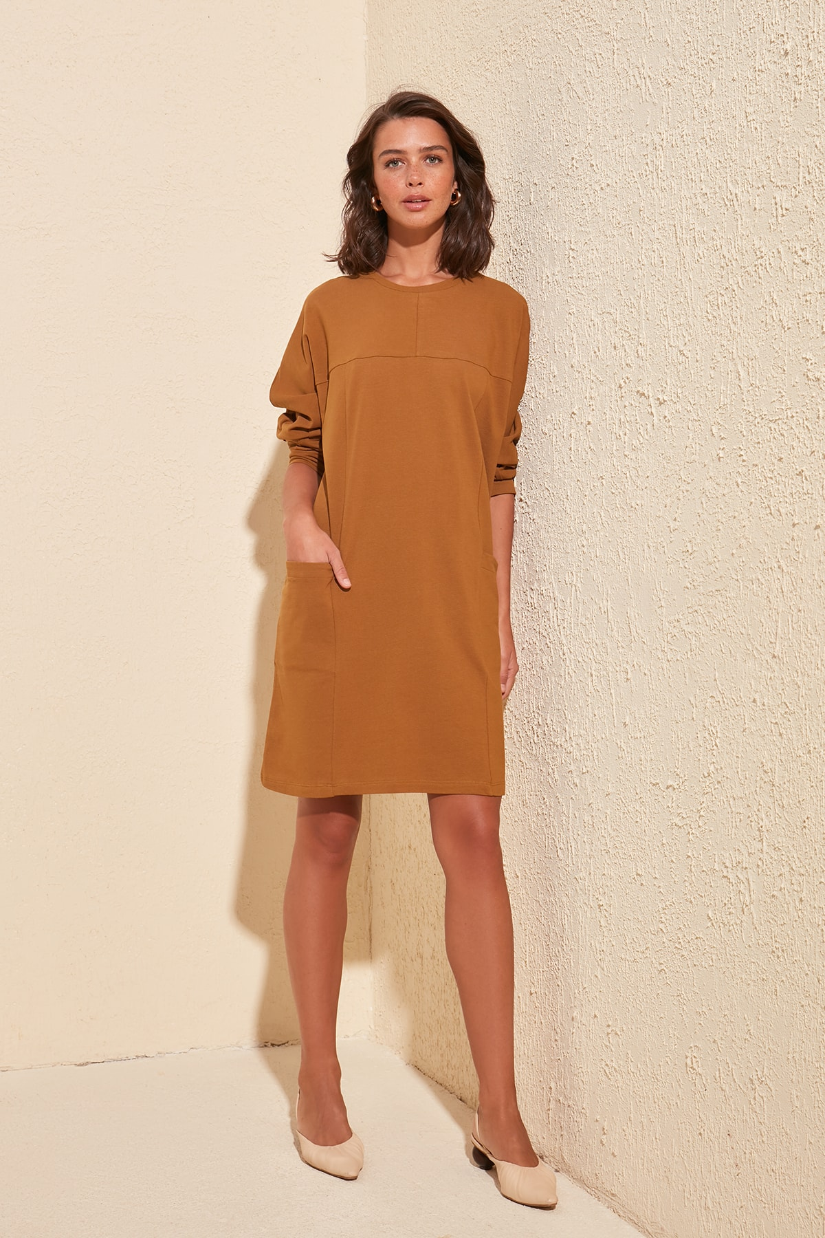 Trendyol Pocket Knit Dress TWOSS20EL0631
