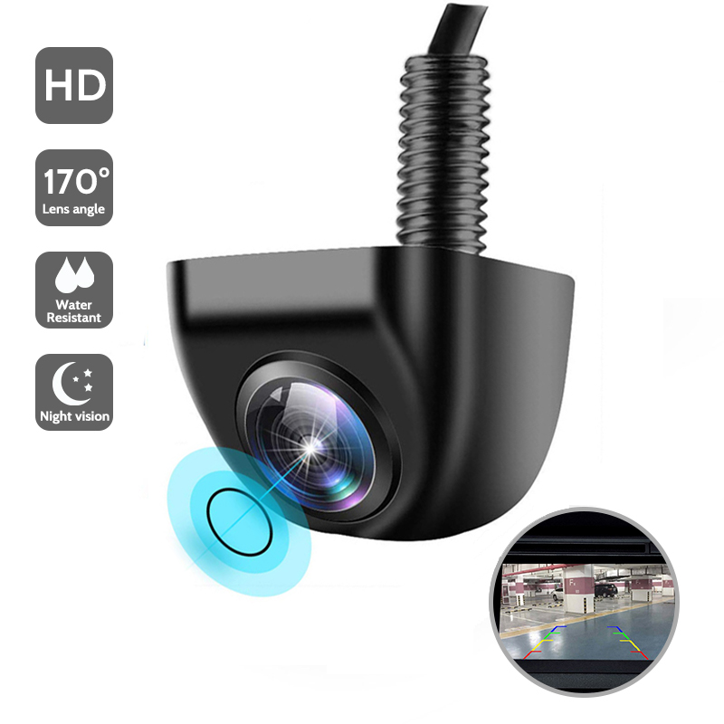 New HD Night Vision Car Rear View Camera 140     Wide Angle Reverse Parking Camera Waterproof CCD LED Auto Backup Monitor Universal