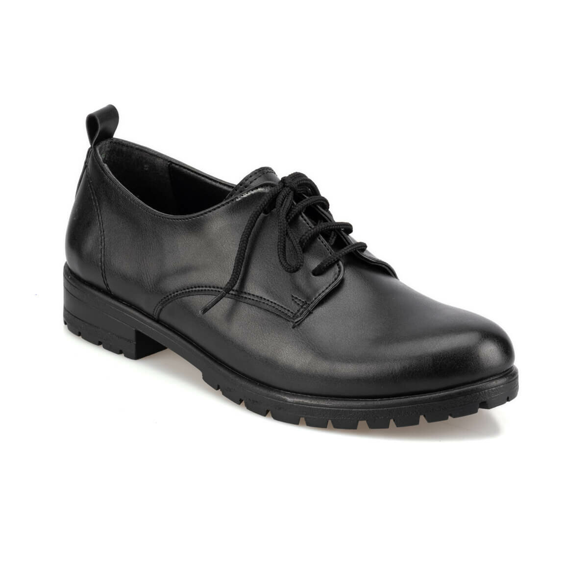 FLO 92. 314831.Z Black Women Oxford Shoes Polaris