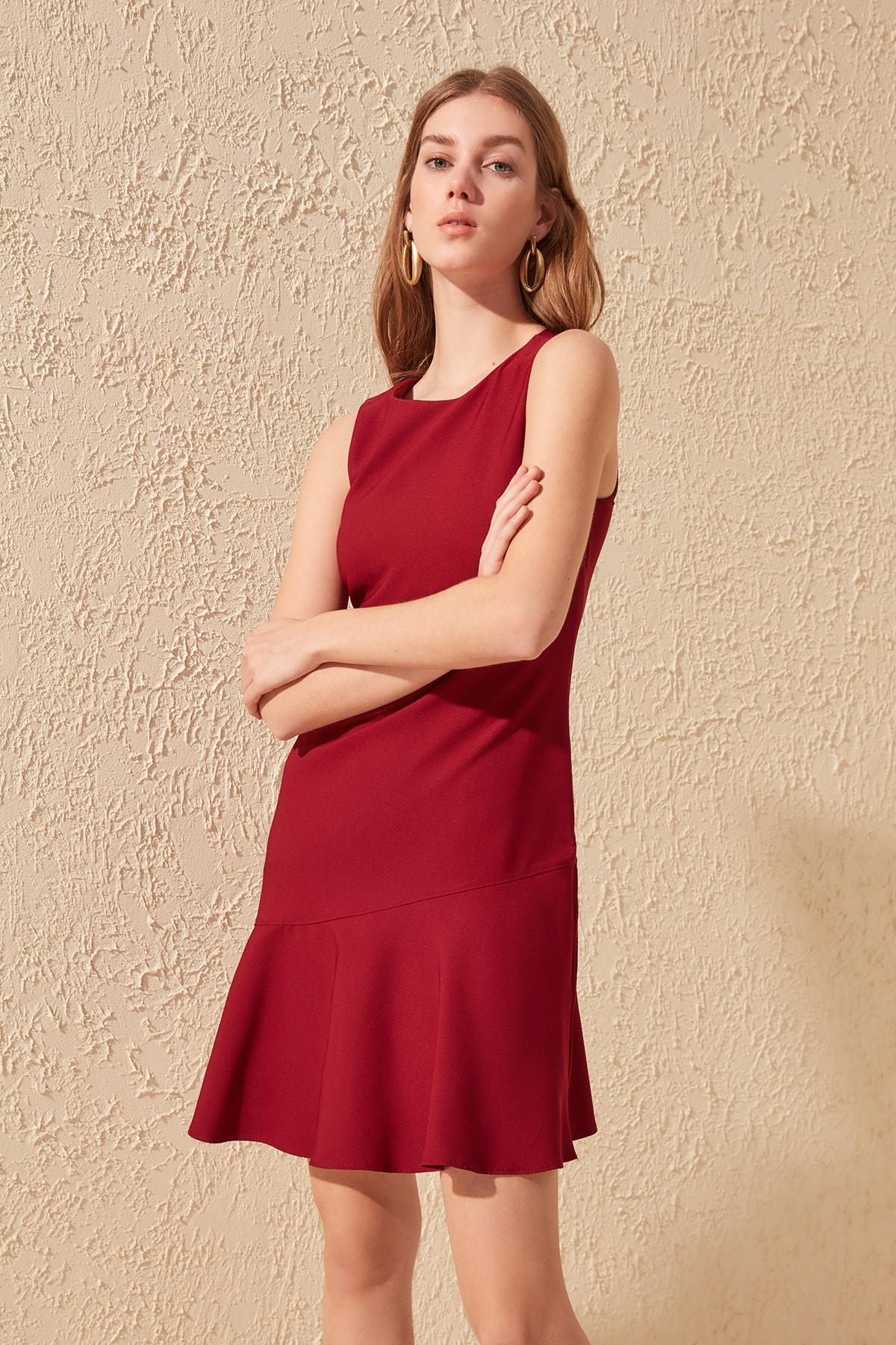 Trendyol Flounces Dress TWOSS20EL0554