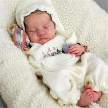 RSG Bebe Reborn Baby Doll 17 дюймов реалистичные куклы новорожденных Reborn Baby Леви винил Неокрашенный Незаконченный кукла Запчасти DIY пустой кукольный ко...