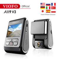 Nuovo prodotto Originale VIOFO A119 V3 Car Dash Cam Upgrated 2019 Ultima Versione super di visione notturna 2560*1600P 30fps GPS opzionale