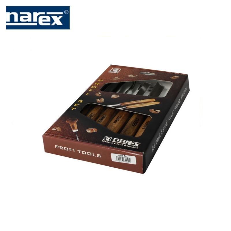 Фото - Profi tool set 6-piece, Narex wood carving  Feret rezchitskih professional woodworking semicircular incisors 3d wood carving machine price cnc