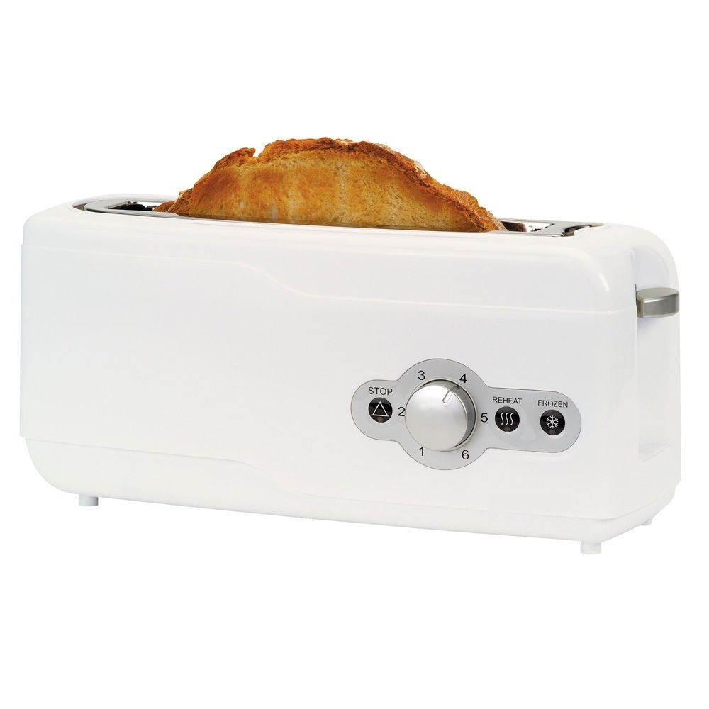 TOASTER A LONG WIDE SLOT FOR BREAD BAR TOASTER FUNCION DESCONGELADO