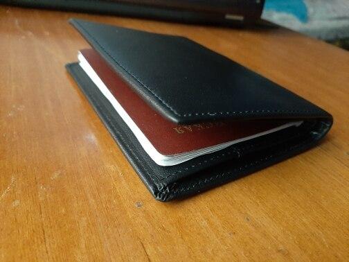 Porta documento e cartões cavalo cartão passaporte