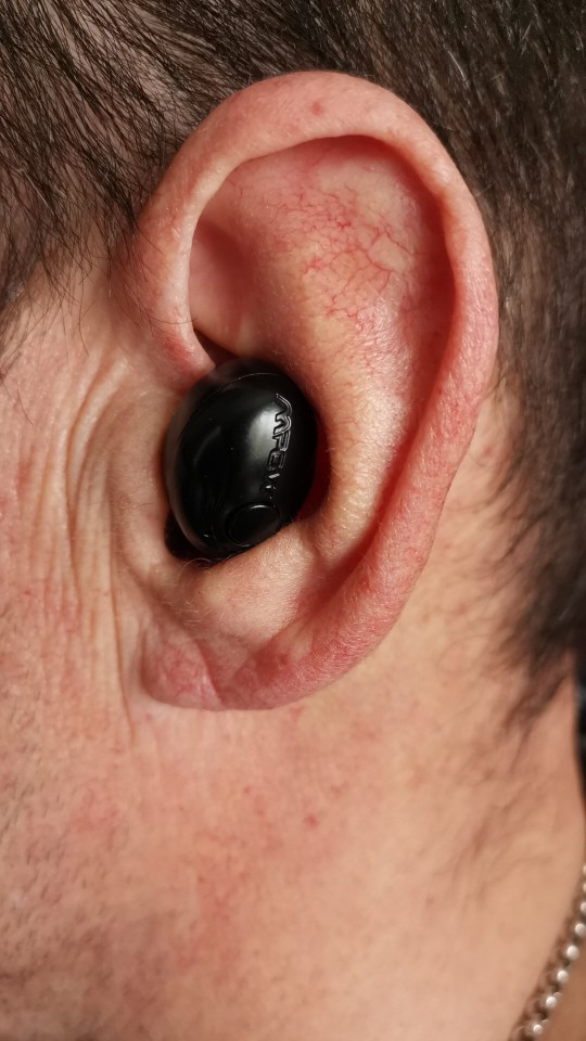 Mpow EM1 Single Bluetooth 4.1 Headphone Wireless Mini Invisible Earpiece In ear Business Earbud Portable Earphone With Mic/Case earbuds with mic bluetooth earbudsinvisible earpiece - AliExpress
