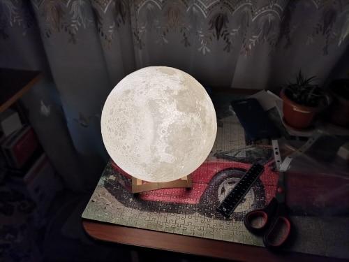Ultimate Multicolours Moon Lamp 15CM photo review