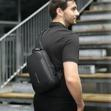 Mark Ryden Multifunktions Crossbody Männer Taschen Wasserdichte USB Lade Sling Pack Kurze Reise Boten Schulter Tasche Männlichen