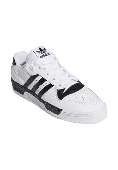 Adidas Rivalry Low Running Shoe, (Ftwr White Ftwr White Core Black), 43 1/3 EU